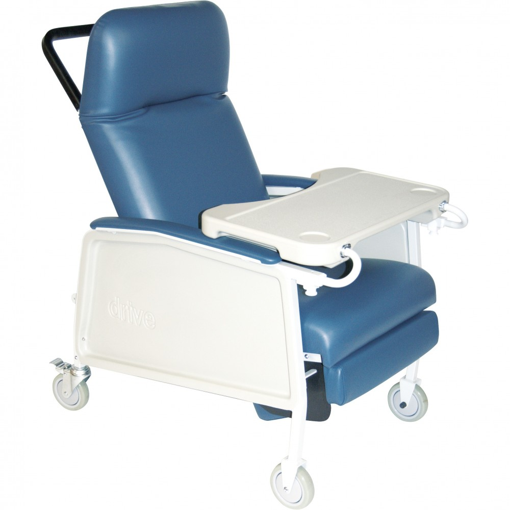 Drive D574 Clinical Care Recliner  sc 1 st  American Quality Health Products & 3-Position Heavy Duty Bariatric XW Geri Chair