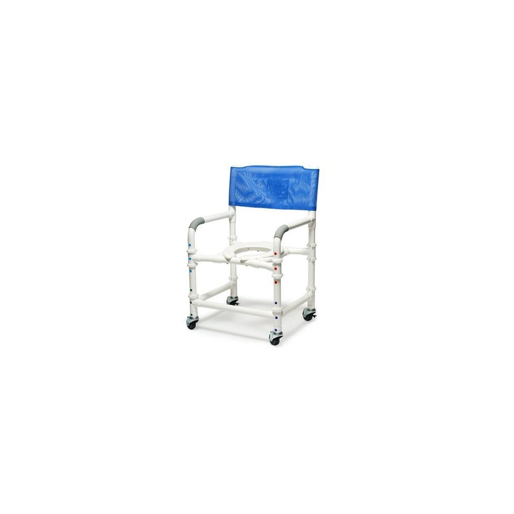Lumex 26quot PVC Bariatric Shower Commode Chair with Sliding  : lumex 26 pvc bariatric shower commode chair with sliding footrest 89251 from americanqualityhealthproducts.com size 600 x 600 jpeg 24kB