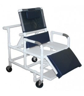 Lumex 26in Bariatric Reclining Commode Bath Seat