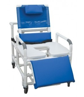 "Lumex 30"" Bariatric Recline Commode Bath Seat - 89550 Graham Field"
