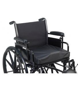 """Titanium Gel/Foam Wheelchair Cushion 16"""" x 16"""""""