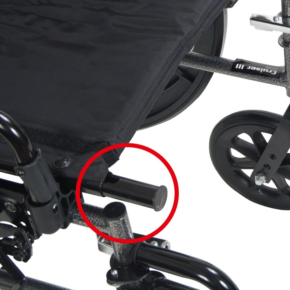 viper plus reclining wheelchair with elevating leg rests  u0026 flip back arms