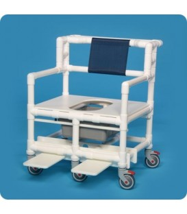 Bariatric Shower Chair Commode Innovative Products Unlimited -BSC880P