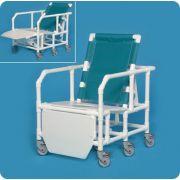 I.P.U. Bariatric Reclining  Shower Chair BSC650