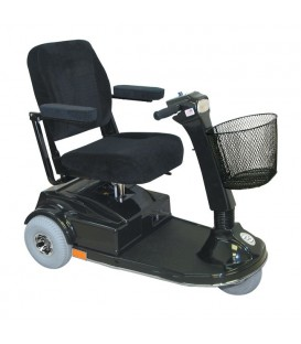 PaceSaver Espree Atlas 3-Wheel Bariatric Scooter (450 lbs) -15035