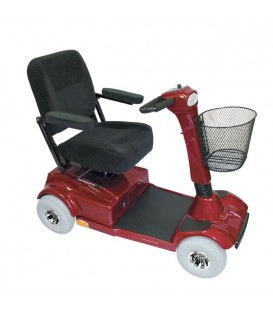 PaceSaver Eclipse Atlas 5 4-Wheel Bariatric Scooter (500 lbs) - 15087