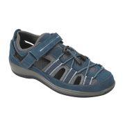 OrthoFeet Women's Naples Diabetic Shoes - Blue
