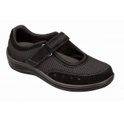 OrthoFeet Women's Chattanooga Diabetic Shoes - Black