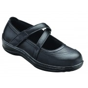 OrthoFeet Women's Celina Diabetic Shoes - Black