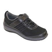 OrthoFeet Women's Breeze Diabetic Shoes - Black
