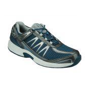 OrthoFeet Men's Sprint Diabetic Shoes - Blue