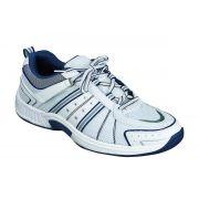 OrthoFeet Men's Monterey Bay Diabetic Shoes - White