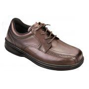 OrthoFeet Men's Gramercy Diabetic Shoes - Brown