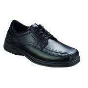 OrthoFeet Men's Gramercy Diabetic Shoes - Black