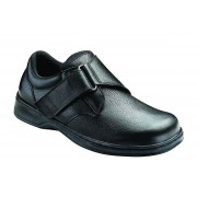 OrthoFeet Men's Broadway Diabetic Shoes - Black