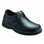 OrthoFeet Men's Carnegie Diabetic Shoes - Black