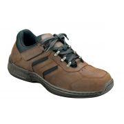 OrthoFeet Men's Shreveport Diabetic Shoes - Brown