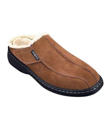 OrthoFeet Men s Asheville Diabetic Shoes Brown