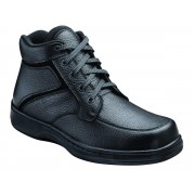OrthoFeet Men's Highline Diabetic Shoes - Black