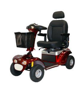 Shoprider Enduro XL4+ Heavy Duty 4-Wheel Bariatric Scooter - 500 lbs