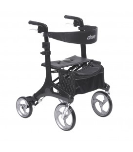 Drive Nitro Elite CF Carbon Fiber Euro-Style 4 Wheel Rollator