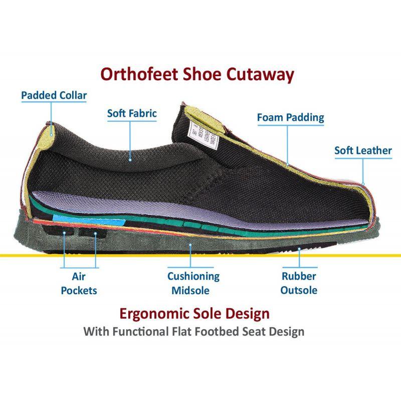 7634dbd49b01 OrthoFeet Women s Sarasota Beach Diabetic Shoes - Tan - American ...