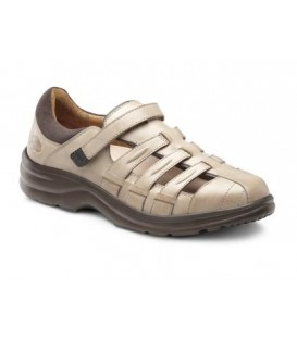 Dr. Comfort Women's Breeze Diabetic Shoes - Light Gold