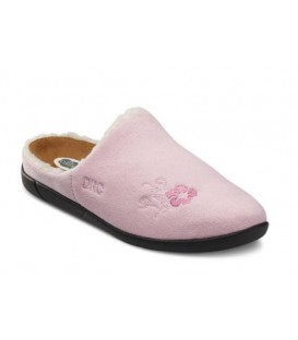 Dr. Comfort Women's Cozy Diabetic Slippers - Pink