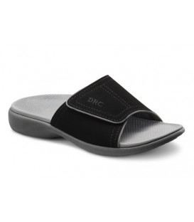 Dr. Comfort Women's Kelly Diabetic Sandals - Black