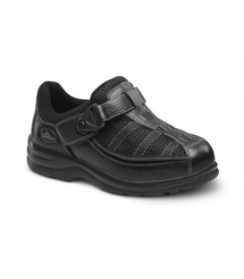 Dr. Comfort Women's Lucie X Diabetic Shoes - Black