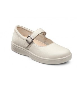 Dr. Comfort Women's Merry Jane Diabetic Shoes - Beige