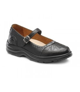 Dr. Comfort Women's Paradise Diabetic Shoes - Black