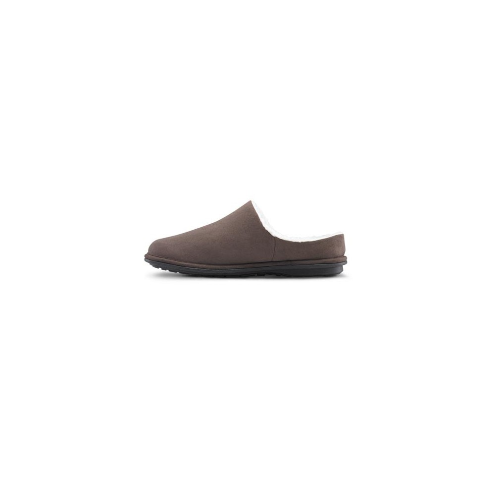 4f0547852d6eb Dr. Comfort Men s Easy Diabetic Slippers - Chocolate - American ...