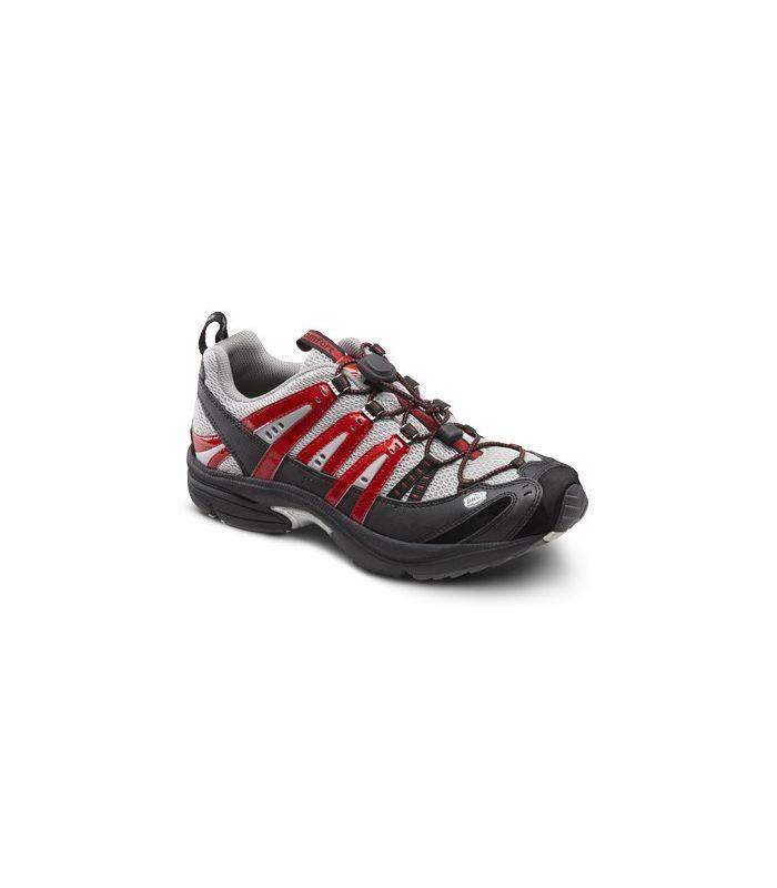 Dr. Comfort Men's Performance Diabetic Shoes - Red