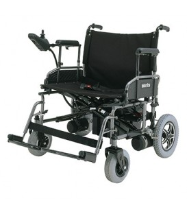 Merits P181 Travel-Ease Folding Power Bariatric Chair - 450 lbs