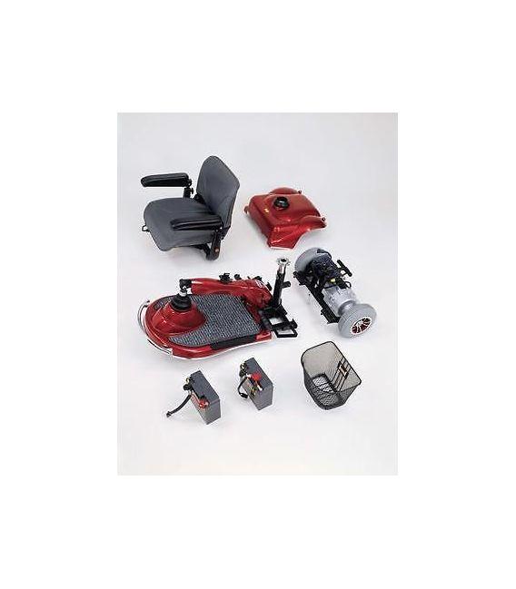 Merits S235 Pioneer 1 -3 Wheel Scooter