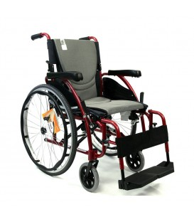 Karman S-ERGO 125 Ultralight Flip Back Premium Wheelchair 25 lbs
