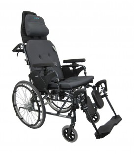 Karman MVP-502-MS Reclining Transport Wheelchair