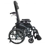 Karman VIP-515-MS Light Foldable Tilt-in-Space Wheelchair 33 lbs