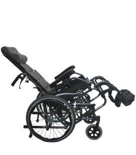 Karman VIP-515-TP Lightest Foldable Adult Tilt-in-Space Wheelchair