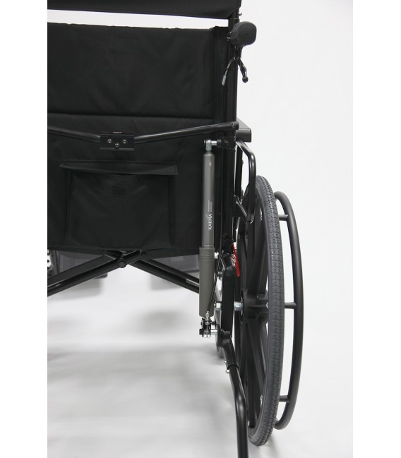 Karman KM-5000F Ultralight Manual Aluminum Reclining Wheelchair 36 lbs