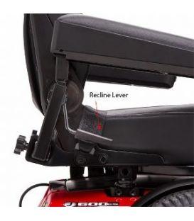 Pride Jazzy 600 ES Power Chair with ATX Suspension