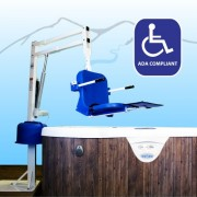 Aqua Creek Spa Ultra Pool Lift - (Anchor Sold Separately) - F-005SLU