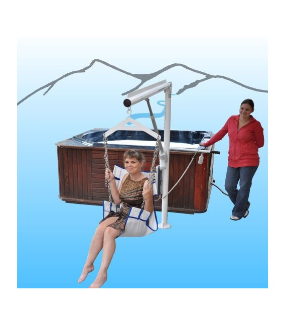 Aqua Creek Super Power EZ Lift Pool Lift -No Anchor*