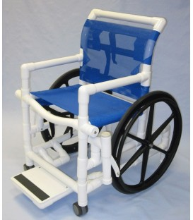 "Aqua Creek Pool Access Chair 18"" Mesh- 300 lb. Wt. Cap."