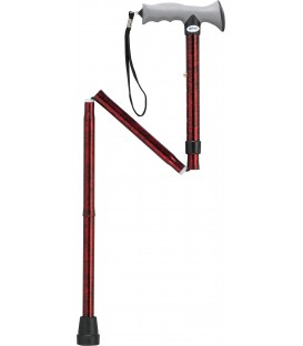 Drive Adjustable Lightweight Folding Cane with Gel Hand Grip