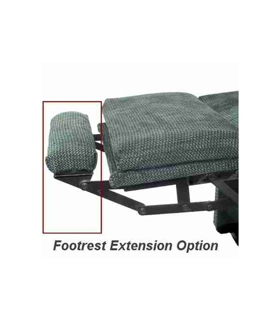Footrest Extension Option