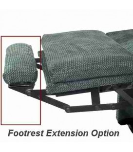 Footrest Extension Option