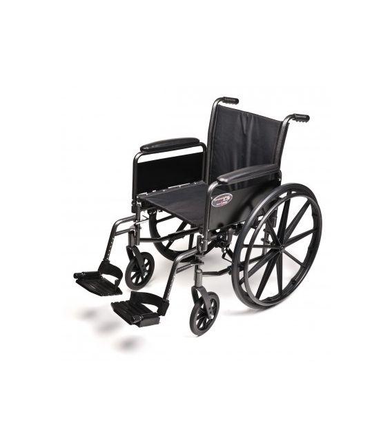 "3F020340 - 20"" x 16"", Flip Back Full Arm, Swingaway Footrest"