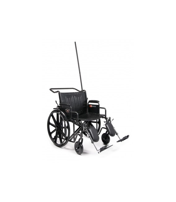 Everest & Jennings Traveler HTC Attendant Transport Chair - Choose